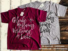 Hole dir jetzt dein ★ GLAUBE · HOFFNUNG · VERTRAUEN · LIEBE – T-SHIRT ★  Dieses Design ist als Crowdfunding-Angebot für Damen in verschiedenen Farben unter: http://vip-shirts.com erhältlich.  Egal ob Tanktop oder T-Shirt, jedes Teil nur 19,95€, aber nur kurze Zeit ;-)   Dieses Design ist ebenfalls als OnDemand-Angebot (dauerhaft) für Damen ab 20,49 € in verschiedenen Farben unter: http://vip-shirts.de/#!spr%C3%BCche+&+schriftz%C3%BCge?q=T403045 erhältlich.   Zum VIP-SHIRTS | BLOG…