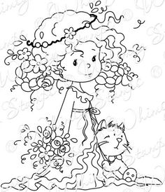 Wee Stamps - Rose and Felix