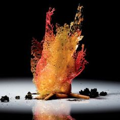 Molecular gastronomy by El Bulli Food Design, Plate Presentation, Think Food, Food Science, Molecular Gastronomy, Gastronomy Food, Edible Art, Culinary Arts, Creative Food