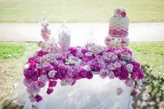 shades of lovely lilac! via Party Inspirations & One Sweet Girl