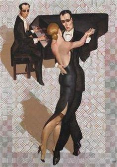 Tango art deco by Juarez Machado