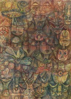 Paul Klee - Strange Garden - 1923