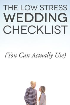 This Is The One Free Wedding Checklist That Won't Add To Your To-Do List