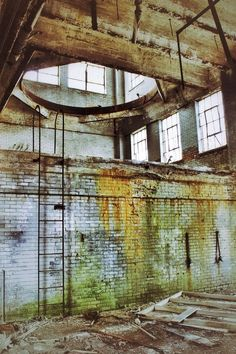 Abandoned factory. Mahanoy City, Pennsylvania.