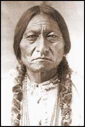 May 7th, 1877 Indian chief Sitting Bull enters Canada with a trail of Indians after the Battle of Little Big Horn.