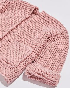 Cardigan Chance / Kit de tricot bébé