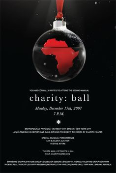Ball design poster The Effective Pictures We Offer You About ideas manualidades papel A quality pict Gala Invitation, Invitations, Charity Water, Event Decor, Event Ideas, Silent Auction, Flyer Design, Christmas Bulbs, Graphic Design