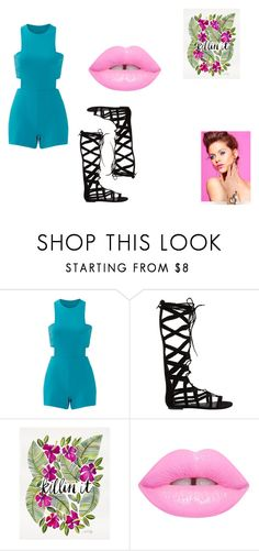 """""""Night out!!!"""" by nora-simpson on Polyvore featuring Nicole Miller and Steve Madden"""