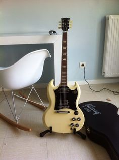 My one and only - Gibson SG Standard 2011 Limited Edition - Cream.