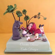 Little red riding hood by Orietta Basso