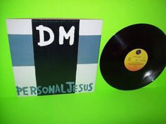 """Depeche Mode – Personal Jesus 1989 5 Track Vinyl 12"""" EP Record SynthPop EX #ElectronicaSynthPop"""