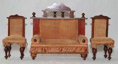 Sofa und 2 Stühle um 1900   eBay