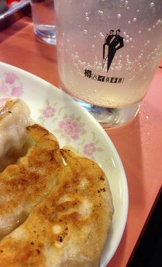 餃子と生レモンハイ