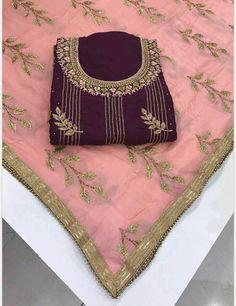 New Punjabi Suit, Designer Punjabi Suits Patiala, Latest Punjabi Suits, Punjabi Suits Designer Boutique, Punjabi Dress, Indian Designer Suits, Indian Suits, Patiala Salwar, New Suit Design