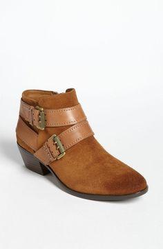 9c3f244752f2 Sam Edelman Womens Suede Cognac Pippen Chelsea Ankle Booties Boots Size 12  M  SamEdelman