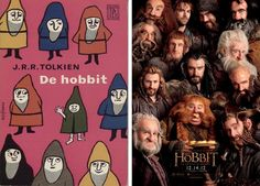 The Hobbit Dwarves, Then and Now
