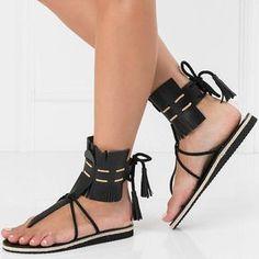 7a6e6e076256 leather sandalsboho womens sandalsfringe sandalssummer flat