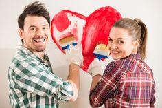 La mayor muestra de amor, es empezar un proyecto juntos. 🥰❤️FELIZ DÍA DE LOS ENAMORADOS❤️🥰 #pintoconinmacelis #pintar #proyectos #enamorados #sanvalentin Ronald Mcdonald, Stock Photos, Couple Photos, Couples, Happy, People, Painting, Fictional Characters, Heart
