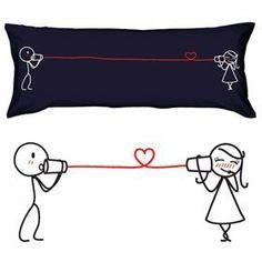 "BoldLoft ""Say I Love You"" Body Pillowcase (Dark Blue)-Ideal Valentine's Day Birthday Wedding Anniversary Romantic Gift for HIM or HER by BoldLoft, http://www.amazon.com/dp/B000Z9HQI0/ref=cm_sw_r_pi_dp_iYTsqb1VDQM0V"