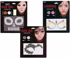 Lace Make Up Kit -Day Of The Dead