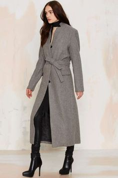 This coat is a cold weather staple if we've ever seen one.