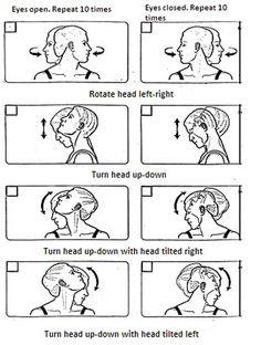 Vertigo Head Exercises - Bing images