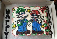 Mario brother cupcake cake Cupcake Cakes, Cupcakes, Mario, Brother, Desserts, Cupcake, Deserts, Dessert, Postres