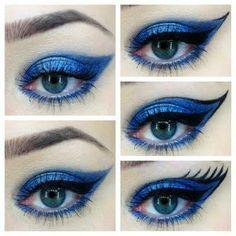 pop-art makeup
