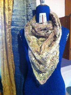 Sciarpa foulard by SilverWoolBoutique on Etsy