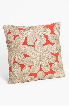 Nordstrom at Home Floral Appliqué Pillow Cover available at #Nordstrom