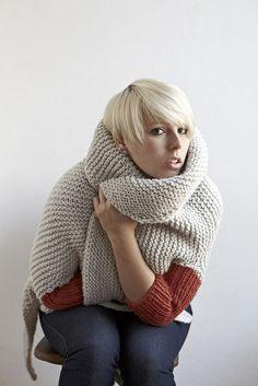 Ravelry: Glam Lamb pattern by Stephen West // beautiful mutli-wear wrap $6.00 pattern