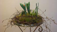 Blumendeko Winter !  Dekoration mit Tulpen, Hyazinthen und Osterglocken.  /  Deko Ideen mit Flora-Shop / YouTube