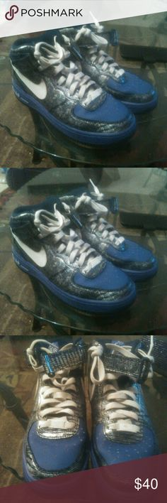 Nike Force Air Force Nike 1 Prm '07 Thompson Tweed Bahamas Air Force 445c67