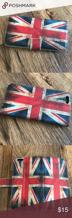"""UK Flag Leather Iphone 6Plus 5.5 Wallet Cover Case UK Flag Leather Flip Phone Stand Wallet Cover Case For Apple iPhone 6 Plus 5.5        Wallet Credit Card Stand Style Folding Case SpecialForApple iPhone 6 Plus 5.5""""    Leather case cover can be turned into a horizontal stand for the convenience of viewing slide shows or Video   MagneticLeather Flip Case with 2 Card Slot   Snap-on case allows easy access to all buttons, controls and ports   Keep your iPhone Scratch Free…"""