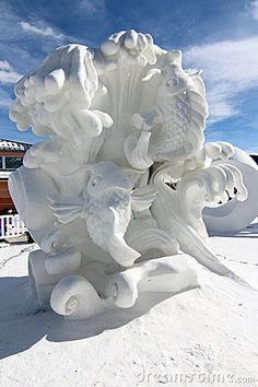 2012 Breckenridge Snow Sculpture Competition by Bambi L. Dingman, via…