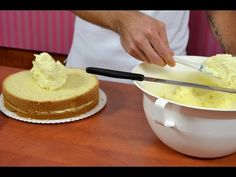 Máslový pudinkový krém - NÁVOD - YouTube How Sweet Eats, Vanilla Cake, Nutella, Sweet Recipes, Tiramisu, Camembert Cheese, Cheesecake, Deserts, Butter