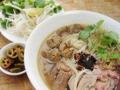 Cambodian Beef Noodle Soup (kuy teav)