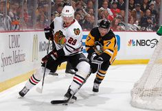 1.21.15 Hawks vs Pens - Bicks - Photo by Gregory ShamusNHLI via Getty Images