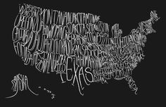 notice how TEXAS is the only state you can clearly read! amen!
