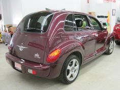 Chrysler PT Cruiser 2003 in cranberry