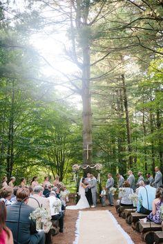 Rustic Wedding at ThorpeWood | Thurmont, Maryland Wedding Photographer | Christa Rae Photography