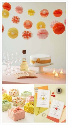 Love the cupcake liner garland
