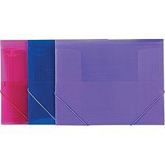 Staples  Classeur Expansible En Poly Translucide Format Lettre