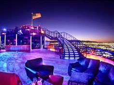 The VooDoo Lounge atop the Rio in Las Vegas. Provides one of the best views of the Las Vegas strip!