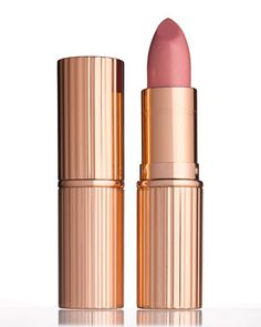 K.I.S.S.I.N.G Lipstick, Bitch Perfect, 3.5g by Charlotte Tilbury at Bergdorf Goodman. (the name!!)
