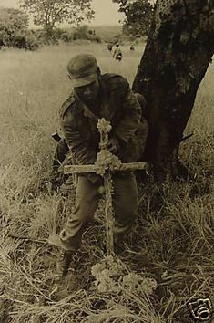 Cuban soldier during the Angolan war. Ernesto Fernandez was the only…