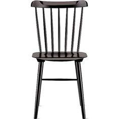 Black Wood Dining Chair vienna black wood dining chair and cushion   vienna, kitchen desks