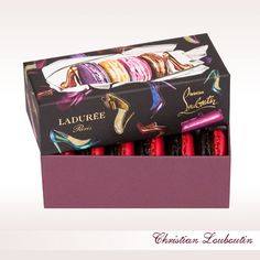Christian Louboutin for Laduree