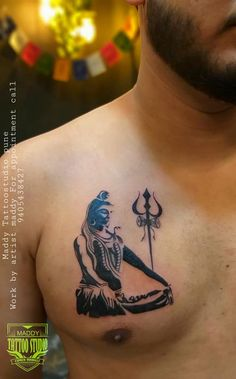 maddy tattoo studio pune work by maddy Ma Tattoo, Mantra Tattoo, Type Tattoo, Tattoo Studio, Hindu Tattoos, God Tattoos, Body Art Tattoos, Tribal Tattoos, Hanuman Tattoo