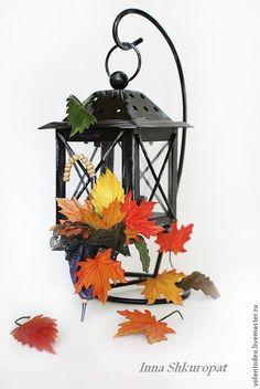 """Брошь из кожи """"Шепот листьев"""" своими руками - Ярмарка Мастеров - ручная работа, handmade"""